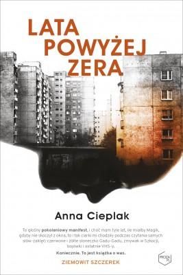 okładka Lata powyżej zera, Ebook | Anna Cieplak