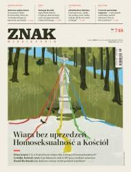okładka Miesięcznik Znak nr 748: Wiara bez uprzedzeń. Homoseksualność a Kościół. Ebook | EPUB,MOBI | autor  zbiorowy