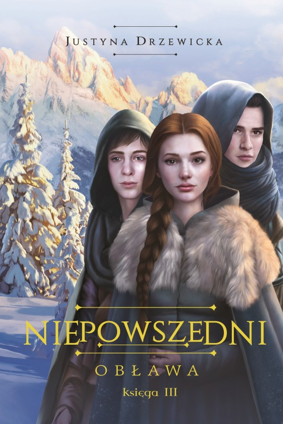 okładka Niepowszedni 3. Obława. Ebook | EPUB, MOBI | Justyna  Drzewicka