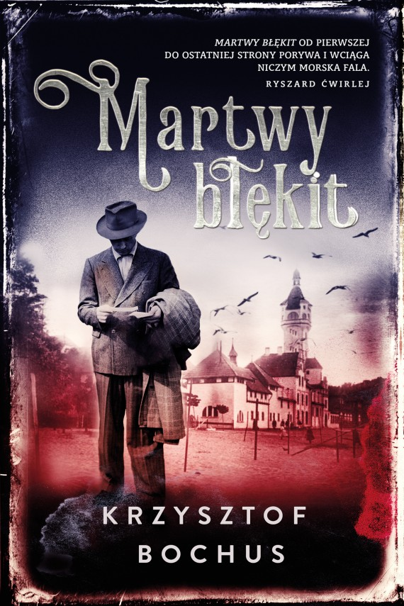okładka Martwy błękitebook | EPUB, MOBI | Krzysztof Bochus