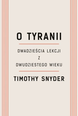 okładka O tyranii, Ebook | Timothy Snyder