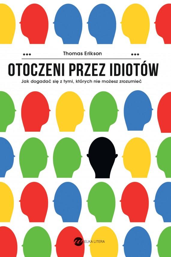 okładka Otoczeni przez idiotów. Ebook | EPUB, MOBI | Thomas Erikson