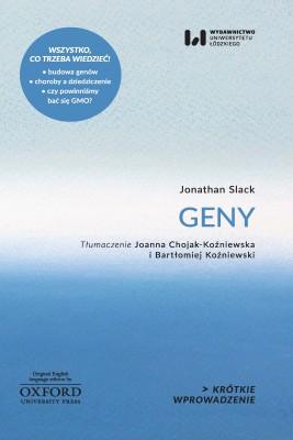 okładka Geny, Ebook   Jonathan Slack