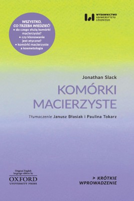 okładka Komórki macierzyste, Ebook   Jonathan Slack