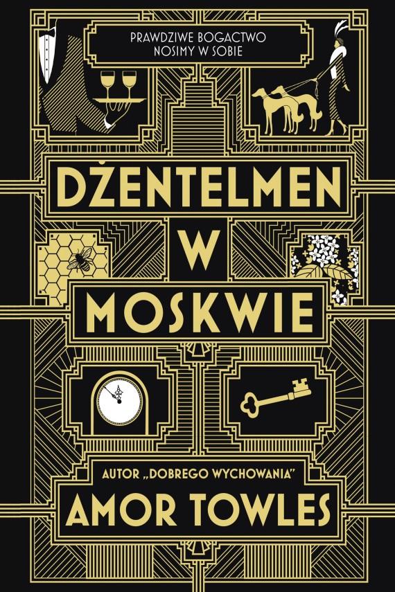 okładka Dżentelmen w Moskwieebook | EPUB, MOBI | Amor Towles