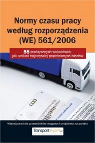 okładka Normy czasu pracy kierowcy według rozporządzenia (WE) 561/2006.. Ebook | PDF | Praca zbiorowa