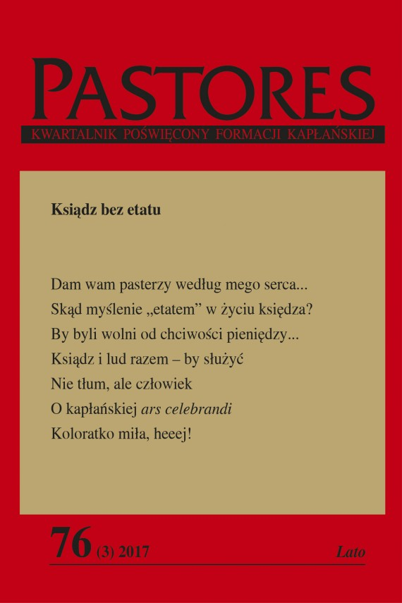 okładka Pastores 76 (3) 2017. Ebook | EPUB, MOBI | Zespół Redakcyjny