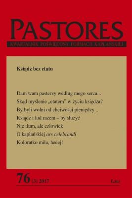okładka Pastores 76 (3) 2017, Ebook   Zespół Redakcyjny