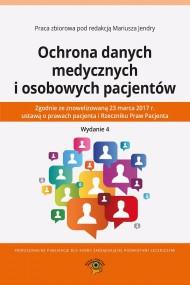 okładka Ochrona danych medycznych i osobowych pacjentów. Ebook | PDF | Praca zbiorowa