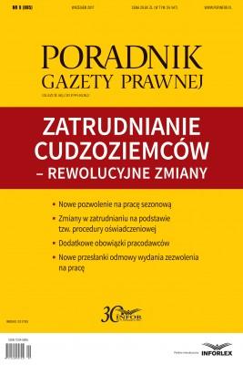 okładka Zatrudnianie cudzoziemców – rewolucyjne zmiany, Ebook | Praca Zbiorowa