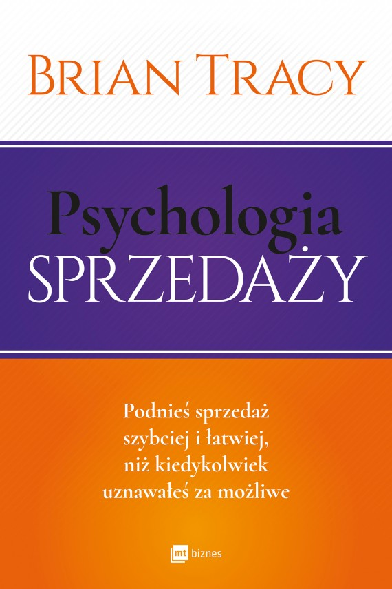 okładka Psychologia sprzedażyebook | EPUB, MOBI | Brian Tracy