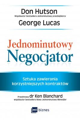okładka Jednominutowy Negocjator, Ebook | Don Hutson, George Lucas