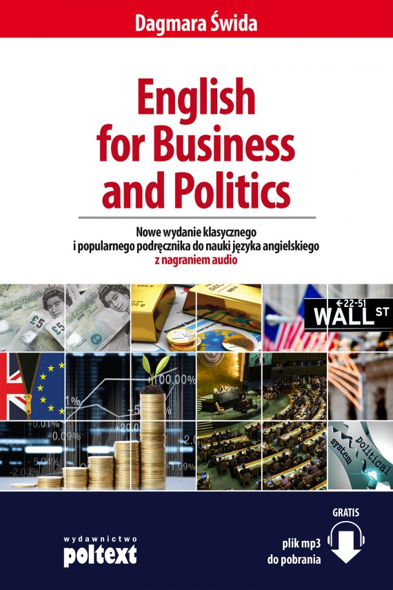 okładka English for Business and Politicsebook | EPUB, MOBI | Dagmara Świda