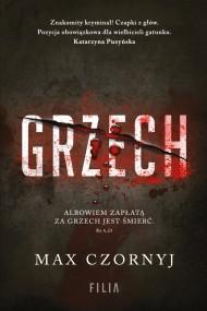 okładka Grzech, Ebook   Max Czornyj