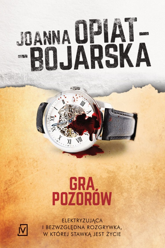 okładka Gra pozorówebook | EPUB, MOBI | Joanna Opiat-Bojarska
