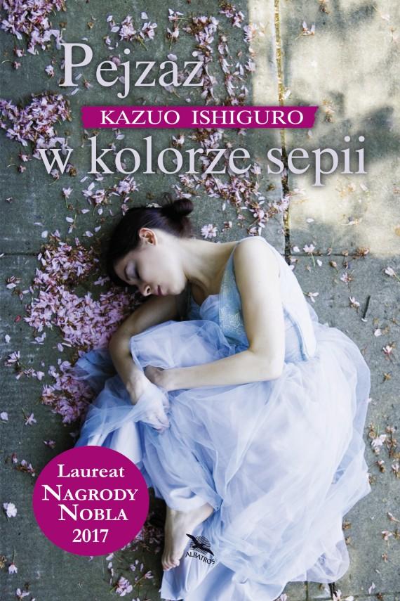 okładka Pejzaż w kolorze sepiiebook | EPUB, MOBI | Kazuo Ishiguro, Krzysztof Filip Rudolf