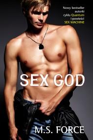 okładka Sex God. Ebook | EPUB,MOBI | M.S. Force, Agnieszka Bill