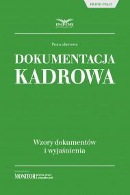 okładka Dokumentacja kadrowa. Ebook | PDF | Praca zbiorowa