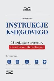 okładka Instrukcje księgowego. 53 praktyczne procedury z serwisem internetowym. Ebook | PDF | Praca zbiorowa