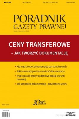 okładka Ceny transferowe - Jak tworzyć dokumentację, Ebook | Mariusz Makowski