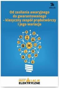okładka Od zasilania awaryjnego do gwarantowanego – klasyczny zespół prądotwórczy i jego wariacje. Ebook | papier | Wiktor  Suliga