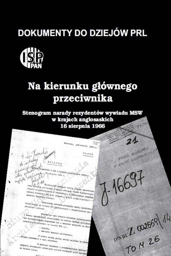 okładka Na kierunku głównego przeciwnika …ebook | PDF | Andrzej  Paczkowski