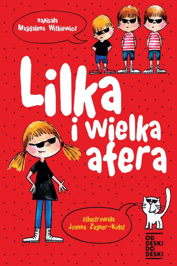 okładka Lilka i wielka aferaebook | EPUB, MOBI | Magdalena Witkiewicz