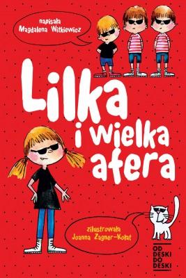 okładka Lilka i wielka afera, Ebook | Magdalena Witkiewicz