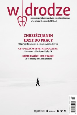 okładka miesięcznik W drodze nr 9/2017, Ebook | opracowanie zbiorowe W drodze