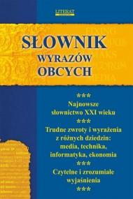 okładka Słownik wyrazów obcych. Ebook | Monika  von Basse