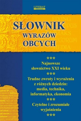 okładka Słownik wyrazów obcych, Ebook | Monika  von Basse