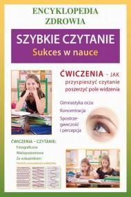 okładka Szybkie czytanie. Sukces w nauce, Ebook | Agnieszka  Umińska