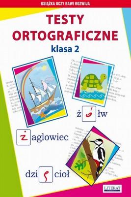 okładka Testy ortograficzne. Klasa 2, Ebook | Beata  Guzowska, Iwona  Kowalska