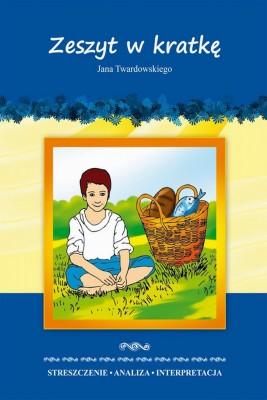 okładka Zeszyt w kratkę Jana Twardowskiego, Ebook | Danuta  Anusiak