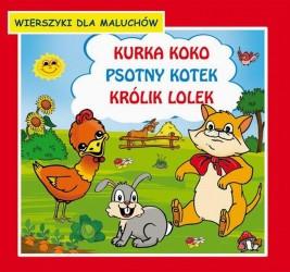 okładka Kurka Koko Psotny kotek Królik Lolek Wierszyki dla maluchów, Ebook | Krystian  Pruchnicki, Emilia  Majchrzyk