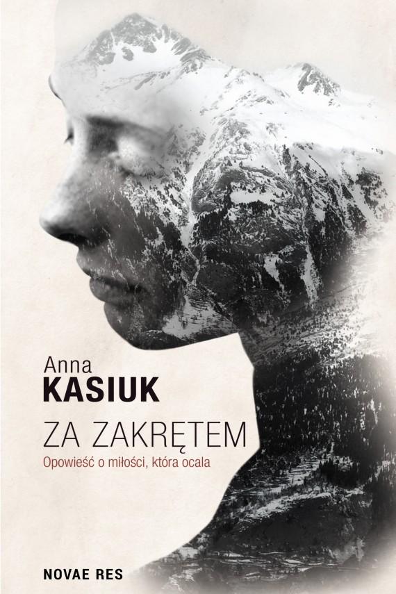okładka Za zakrętemebook | EPUB, MOBI | Anna Kasiuk