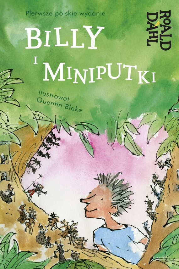 okładka Billy i Miniputkiebook | EPUB, MOBI | Roald Dahl