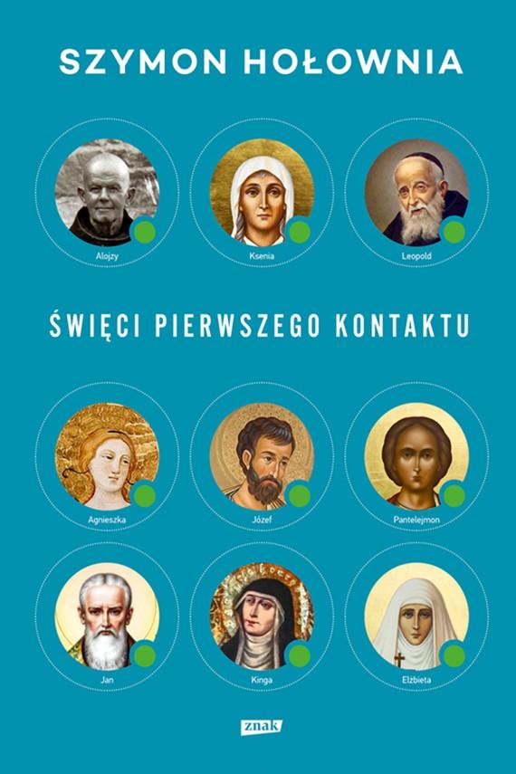 okładka Święci pierwszego kontaktuebook | EPUB, MOBI | Szymon Hołownia