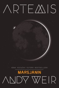 okładka Artemis, Ebook | Andy  Weir, Radosław Madejski