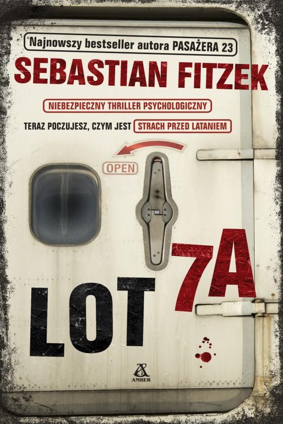 okładka Lot 7Aebook | EPUB, MOBI | Sebastian Fitzek, Barbara Tarnas