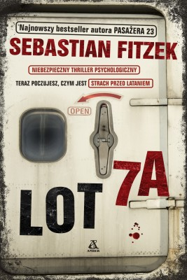 okładka Lot 7A, Ebook | Sebastian Fitzek