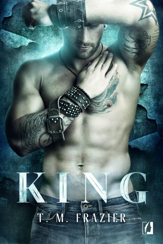 okładka King. Ebook | EPUB, MOBI | T. M.  Frazier