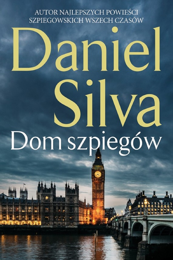 okładka Dom szpiegówebook | EPUB, MOBI | Daniel Silva