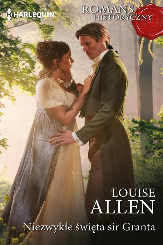 okładka Niezwykłe święta sir Granta. Ebook | EPUB, MOBI | Louise Allen