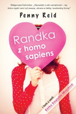okładka Randka z homo sapiens, Ebook | Penny Reid, Maria Kabat