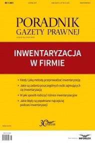 okładka Inwentaryzacja w firmie. Ebook | PDF | Praca zbiorowa