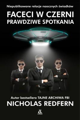 okładka Faceci w czerni: prawdziwe spotkania, Ebook | Nicholas Redfern, Jan Złotnicki