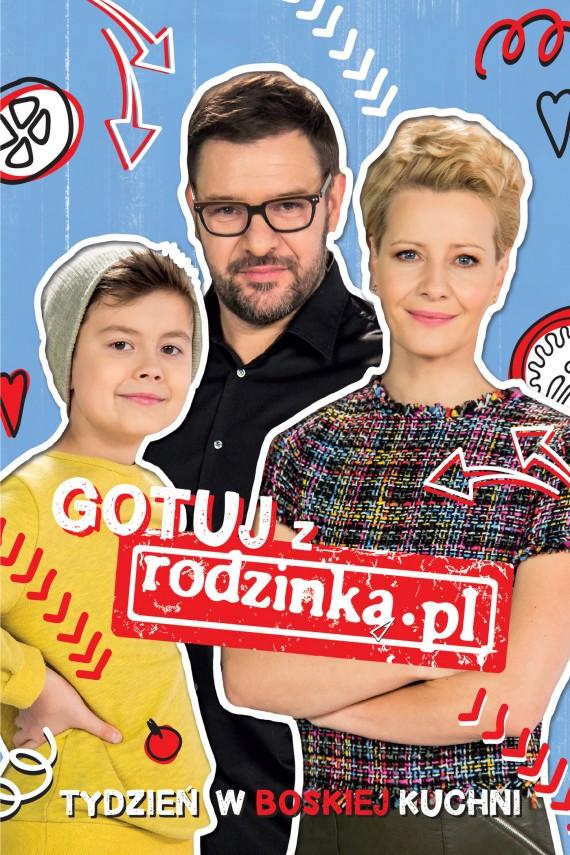 okładka Gotuj z rodzinką.pl. Ebook | EPUB, MOBI | Opracowanie zbiorowe