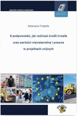 okładka 8 podpowiedzi, jak rozliczać środki trwałe oraz wartości niematerialne i prawne w projektach unijnych, Ebook   Katarzyna  Trzpioła
