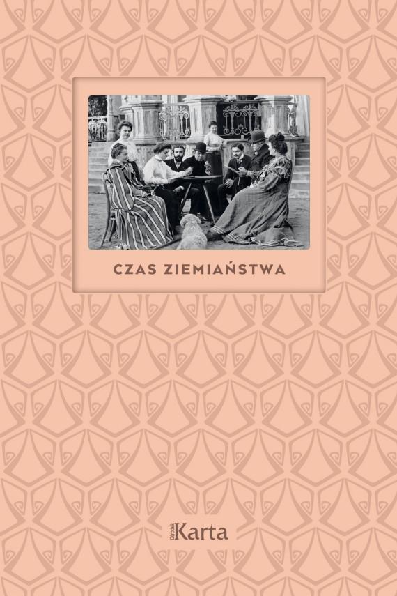 okładka Czas ziemiaństwa. Ebook | EPUB, MOBI | Anna Richter
